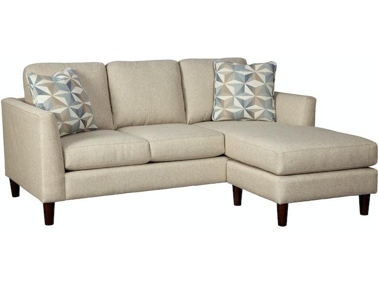 Craftmaster Living Room Sofa Chaise 786557 - CraftMaster - Hiddenite, NC
