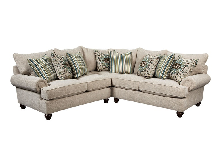 Craftmaster Living Room Sectional 7970 Sect Brashears