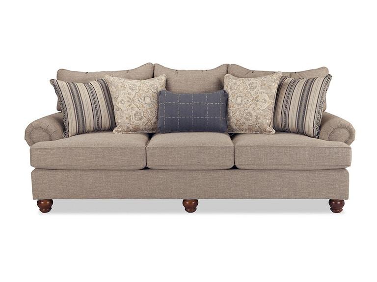 Craftmaster Living Room Three Cushion Sofa 797050pc Wholesale Furniture Cookeville Tn