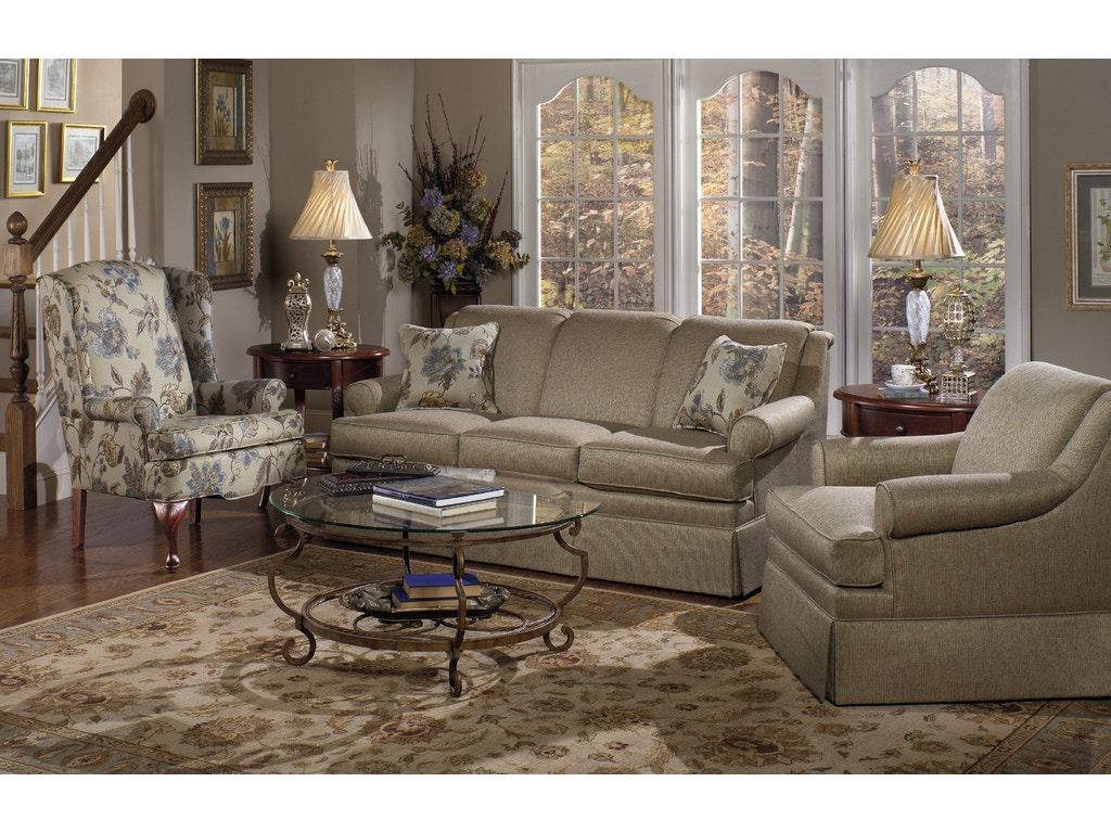 Craftmaster Living Room Sofa 920550 Carol House