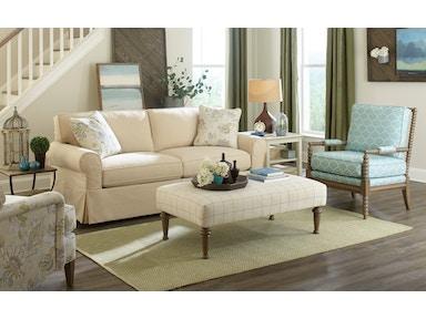 Craftmaster Living Room Sofa 922850 Sleeper Also