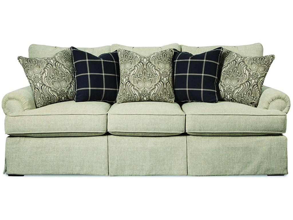 Craftmaster Living Room Three Cushion Sofa 927550