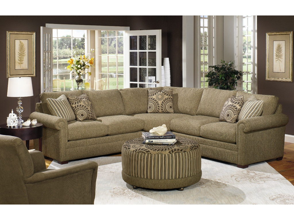Craftmaster Living Room Sectional F9123 Sect Craftmaster