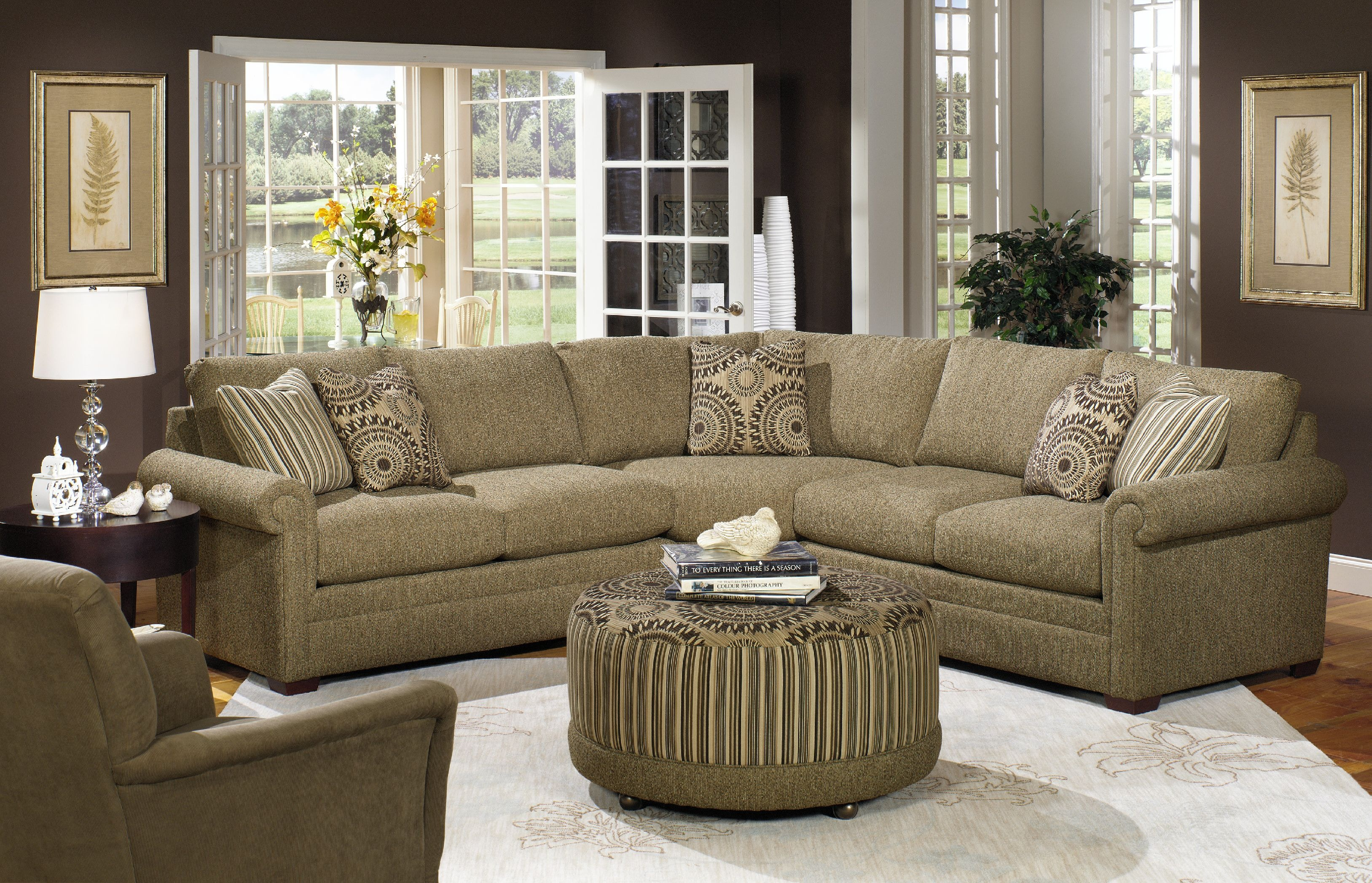 Exceptionnel Craftmaster Sectional F9123 Sect