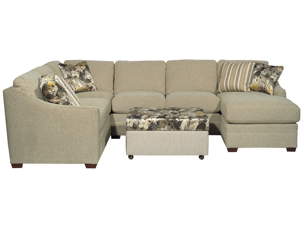 Craftmaster Living Room Sectional F9332 Sect Seaside