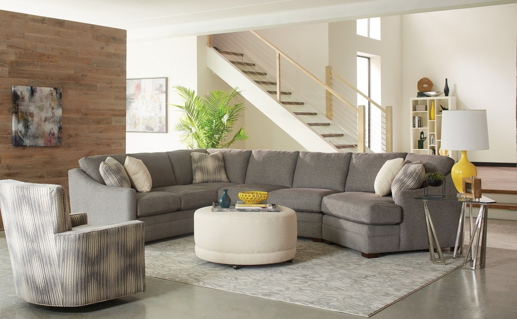 Hickorycraft Sectional F9332 Sect
