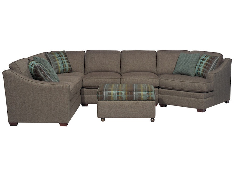 apricot sectional sofa craftmaster living room sectional f9431 sect carol house