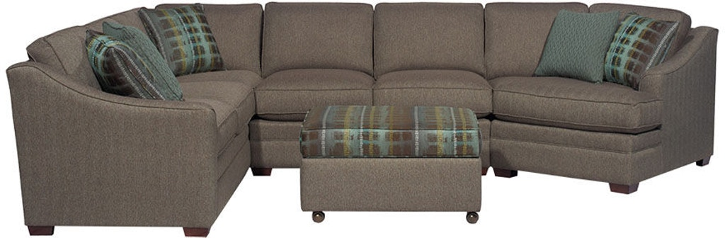 Awesome Craftmaster Living Room Sectional F9431 Sect Craftmaster Gamerscity Chair Design For Home Gamerscityorg