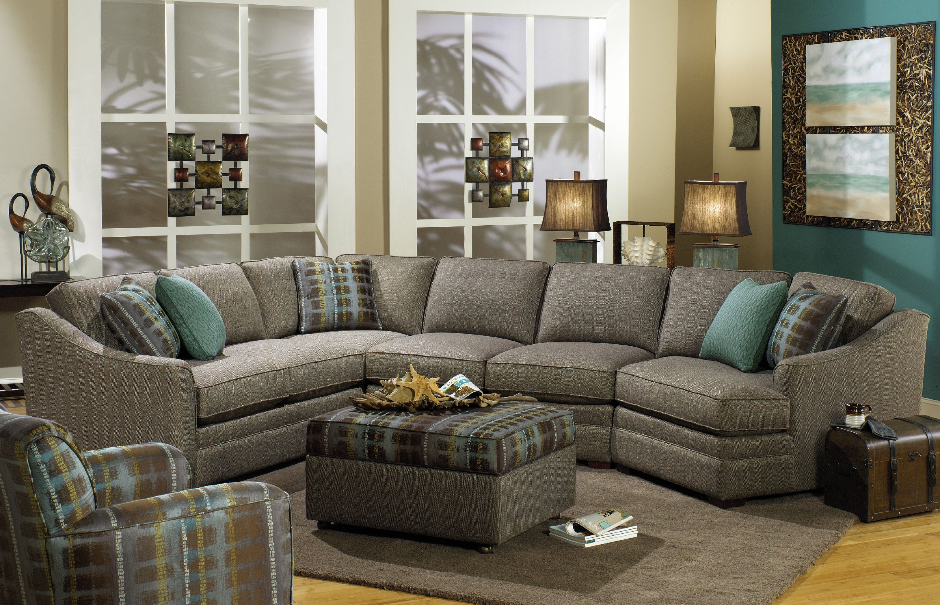 Beau Craftmaster Sectional F9431 Sect