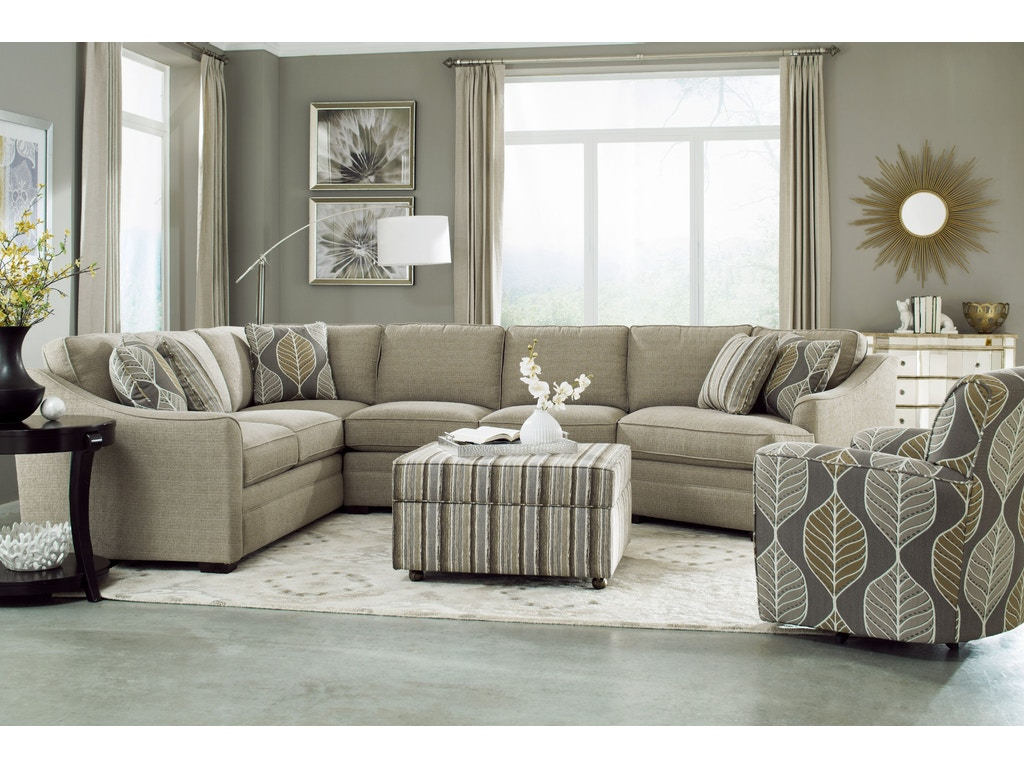 Craftmaster Living Room Sectional F9431-Sect - Carol House ...