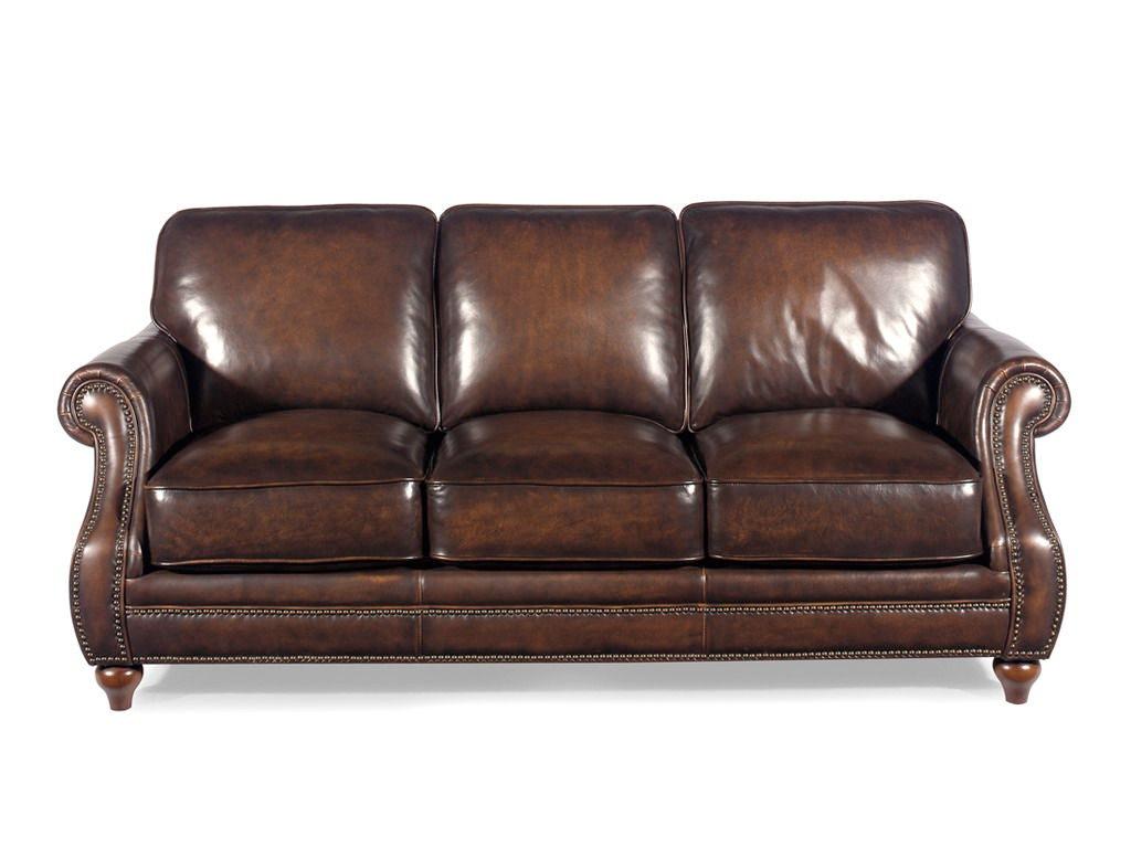 Craftmaster Encore Leather Sofa Refil Sofa