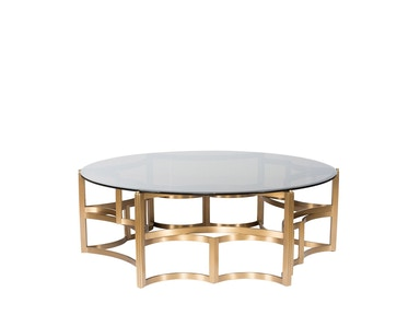 Curations Limited Gold Coffee Table 1000.1008