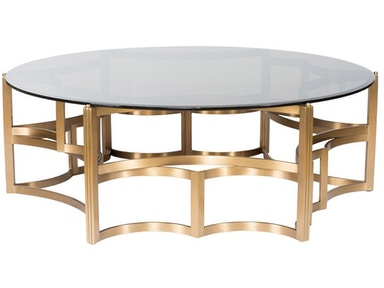 Curations Limited Gold Coffee Table