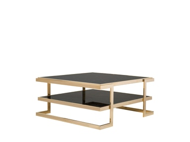 Curations Limited Deco Coffee Table 1001.1015.Black