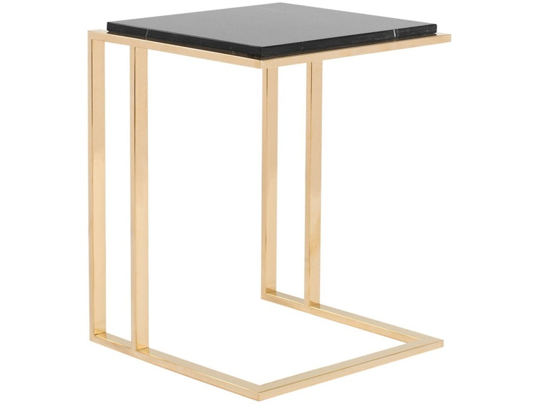Curations Limited Deco Small Side Table 1001 1017 Black From Walter E Smithe Furniture