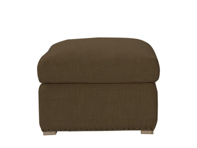 Curations Limited Winslow Ottoman Brown 7801.1112.A008