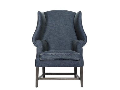 Curations Limited New Age Denim Chair 7841.0002