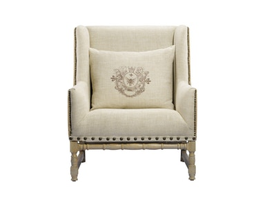 Curations Limited Antwerpen Linen Armchair 7841.0008.HA015