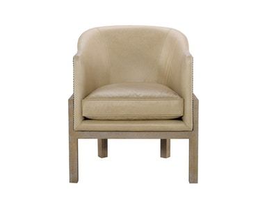 Curations Limited Lucerne Leather Arm Chair 7841.0032