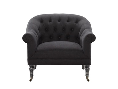 Curations Limited Reims Black Arm Chair 7841.0034.A887