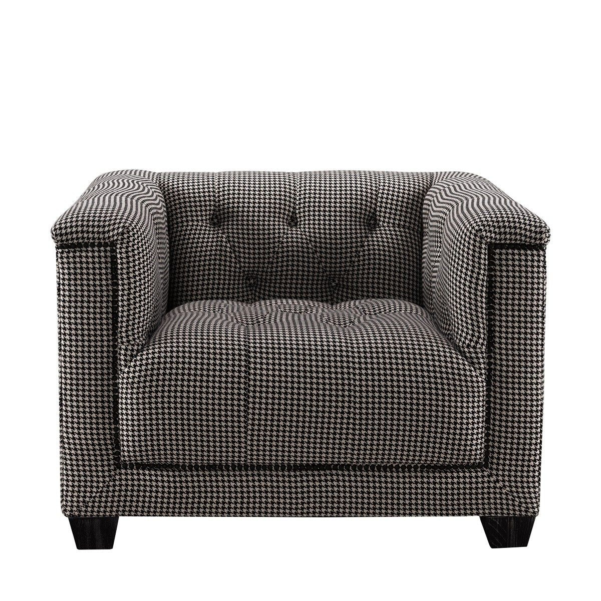 Curations Limited Bergamo Arm Chair 7841.0036.B018 From Walter E. Smithe  Furniture + Design
