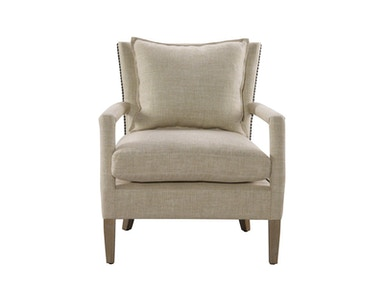Curations Limited Vichy Linen Chair 7841.0038.A015