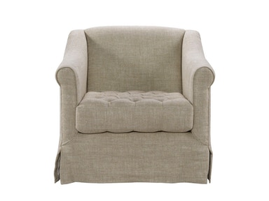 Curations Limited Brussels Linen Arm Chair 7841.0046.A015