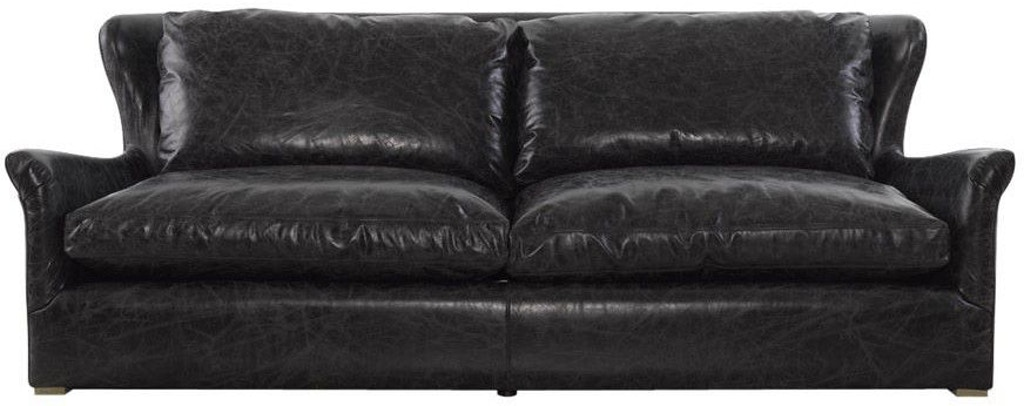 Curations Limited Winslow Leather And Wool Sofa 7842 3106 From Walter E Smithe Furniture Design