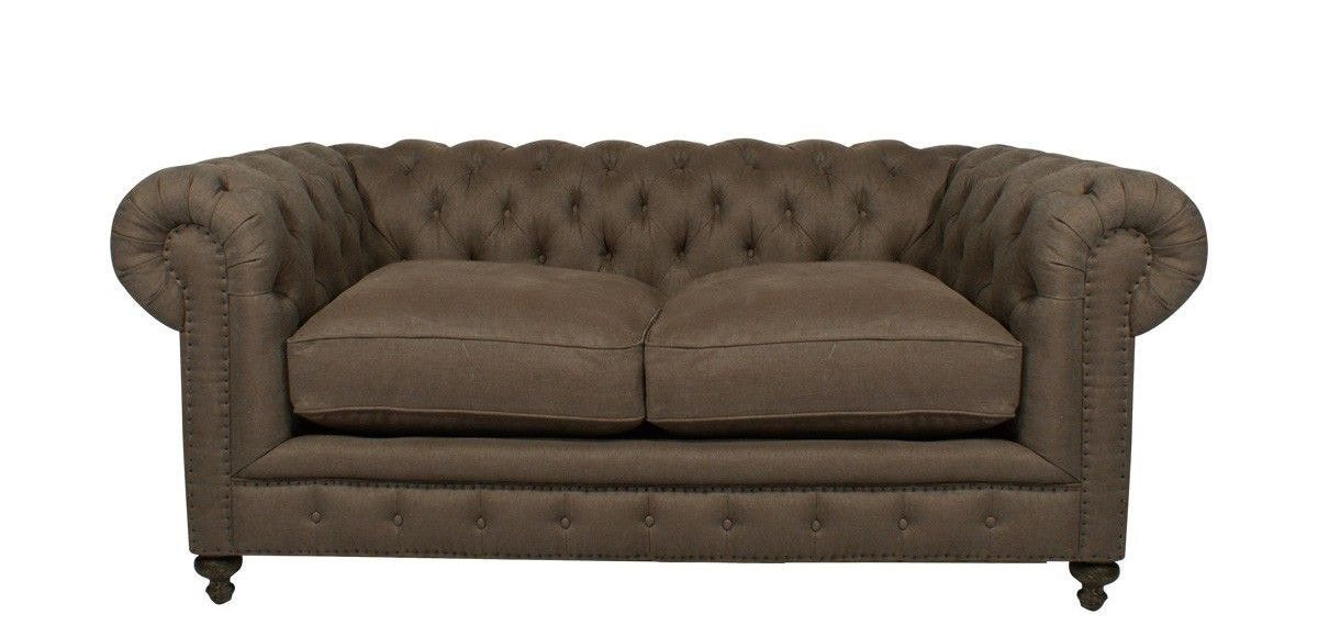 Elegant Curations Limited 77 Inches Cigar Club Sofa 7842.0002.A008 From Walter E.  Smithe Furniture