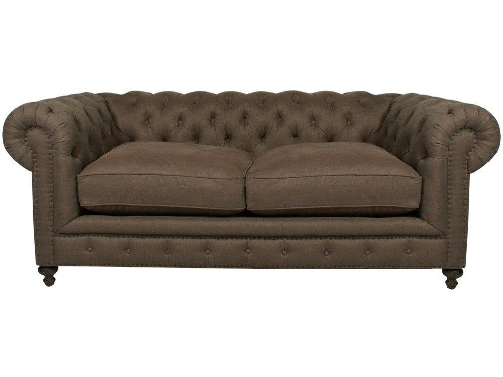 Living room 90 inches cigar club sofa at for 90 inch couch