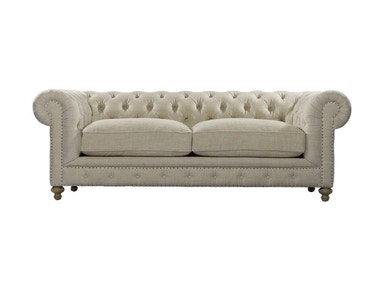 Curations Limited 90  Inches Cigar Club Sofa 7842.0003.A015