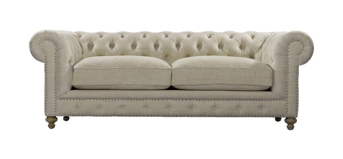 Curations Limited 90 Inches Cigar Club Sofa 7842.0003.A015 From Walter E.  Smithe Furniture
