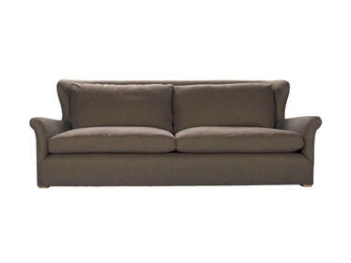 Curations Limited Winslow Sofa Brown Linen 7842.1107.A008