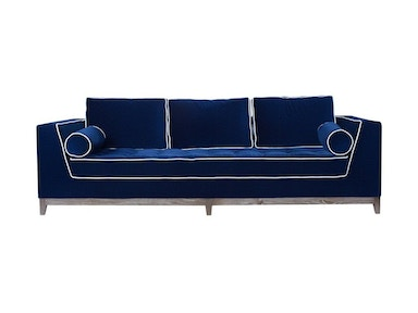 Curations Limited Nick Alain Velvet Sofa 7842.3006