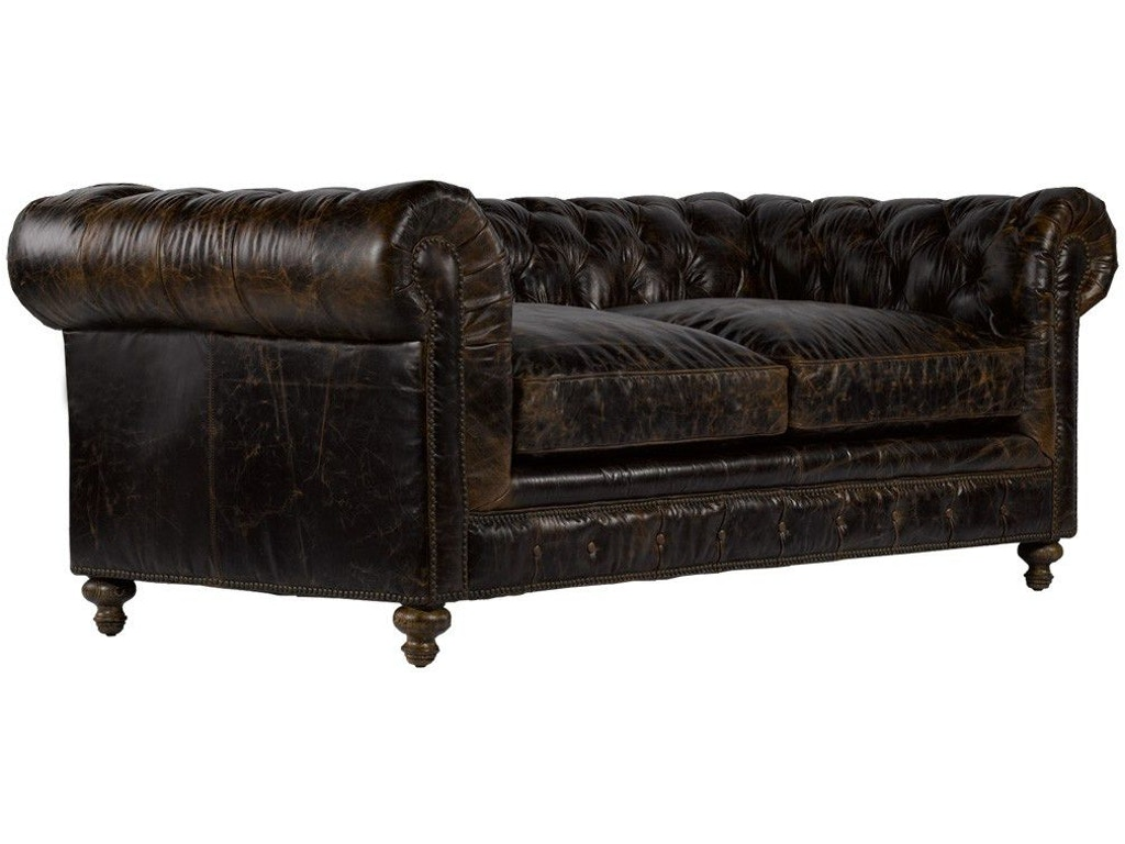 90 inches cigar club leather sofa for 90 inch couch