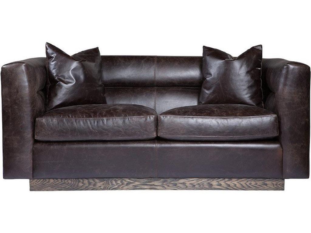 Curations Limited Living Room Avington Leather Sofa