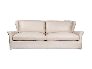 Curations Limited Winslow Leathe Sofa Velvet Back 7842.3107