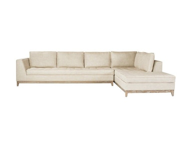 Curations Limited Nick Alain Sectional 7843.3001.LAF.RAF