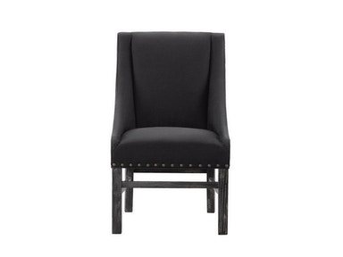 Curations Limited New Trestle Black Chair 8826.0013