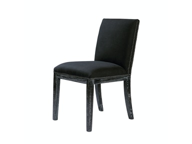 Curations Limited Pavia Vintage Black Chair 8826.0028.A887