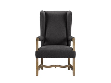 Curations Limited Belgium Wing Wool Arm Chair 8826.1100.W006