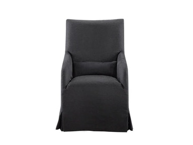 Curations Limited Flandia Black Arm Chair 8826.1104