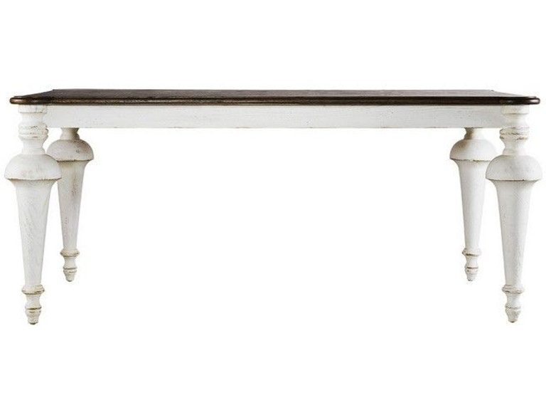 Curations Limited Small Old Milton Vintage White Table 8831 2207 S From Walter E Smithe