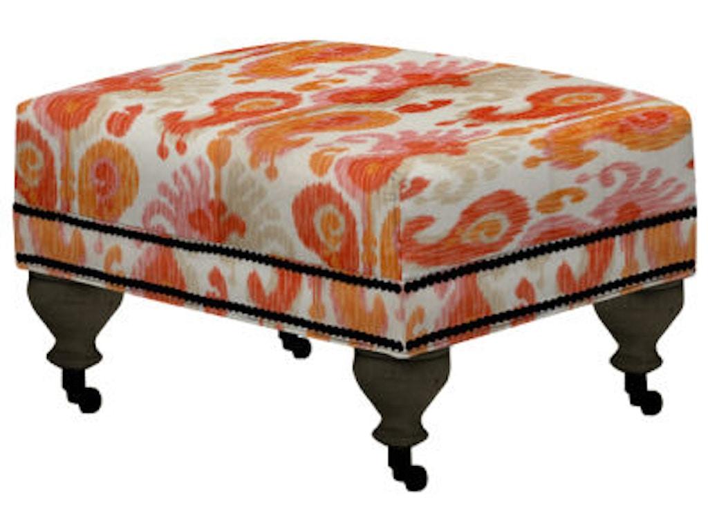 Norwalk Furniture Living Room Ottoman 105110 Norwalk