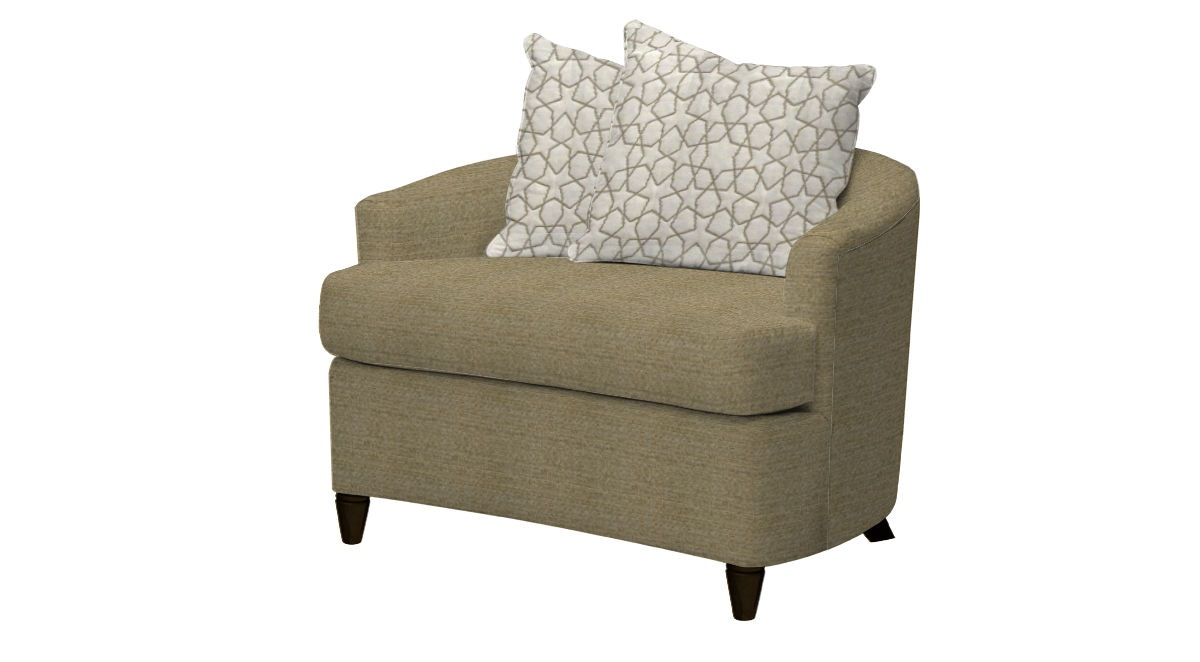 SmitheCraft Cuddle Chair NR117038 From Walter E. Smithe Furniture + Design