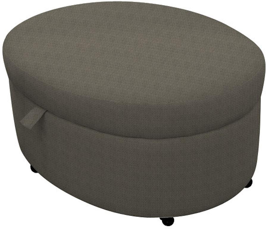 Norwalk Furniture Living Room Storage Ottoman 117299 - EMW Carpets ...
