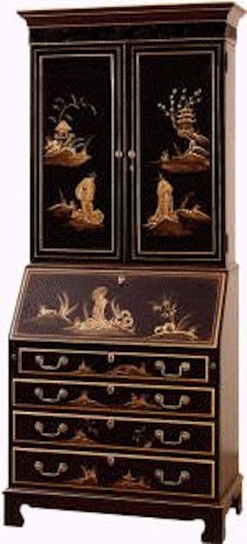 Jasper Cabinet Traditions Painted Secretary 881 02