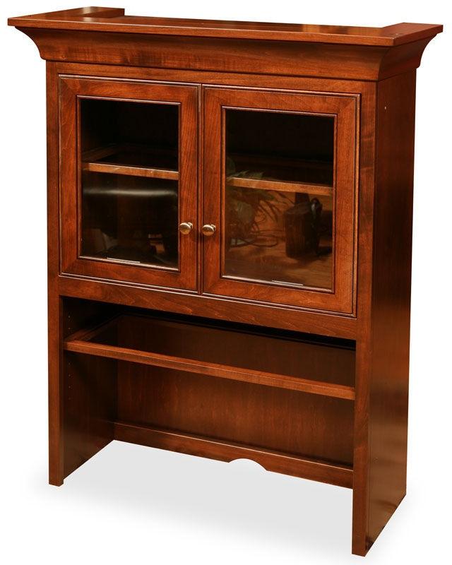 Jasper Cabinet Glass Door Hutch Top 30 1