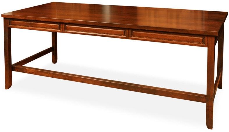 Jasper Cabinet Home Office Peninsula Desk 30 4 Hickory