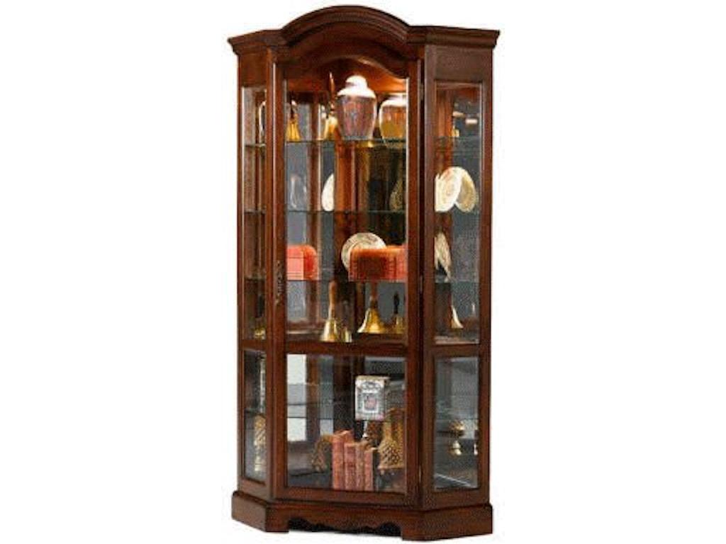 Jasper Curio Cabinet Jasper Cabinet Brighton Corner Curio P609 00 Flemington